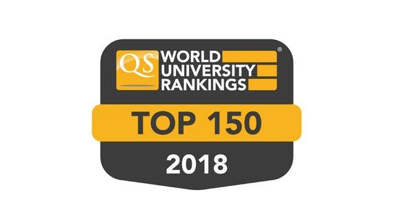 QS World University Rankings 2018